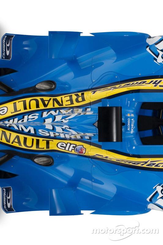 Détail de la nouvelle Renault R26