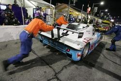 Pitstop for #09 Spirit of Daytona Racing Pontiac Crawford: Doug Goad, Bobby Labonte, Harold Primat, Larry Oberto
