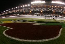 A wet trioval at Daytona