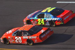 Tony Stewart, Jeff Gordon