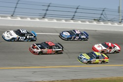 Ryan Newman, Kevin Harvick, Greg Biffle, Kurt Busch and Robby Gordon