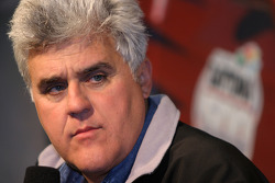 Press conference: Tonight Show host and pace car driver Jay Leno