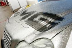 Détail de la AMG-Mercedes de Mika Hakkinen