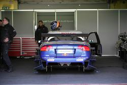 The Audi A4 DTM of Heinz-Harald Frentzen