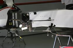 Detail of the Super Aguri F1