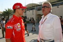Michael Schumacher and Willi Weber