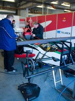 Garage de l'équipe Mexico