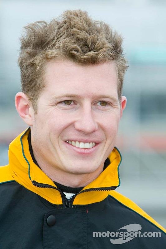Le pilote de l'équipe d'Australie Ryan Briscoe