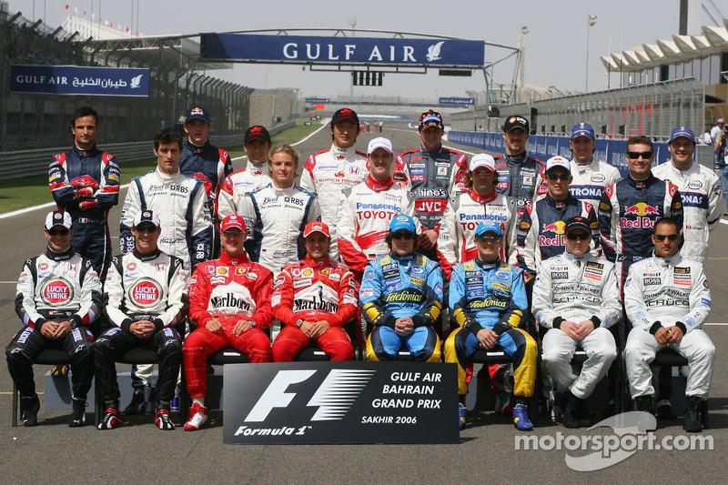 Pilotos temporada 2006