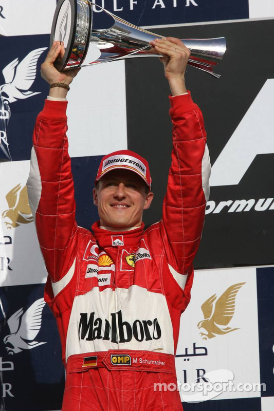 Podio: Michael Schumacher