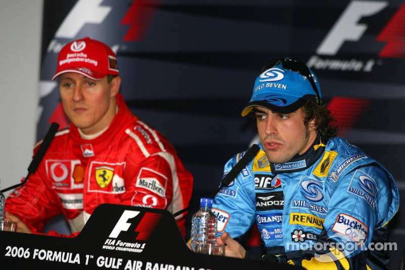 Conferencia de prensa: Michael Schumacher y Fernando Alonso