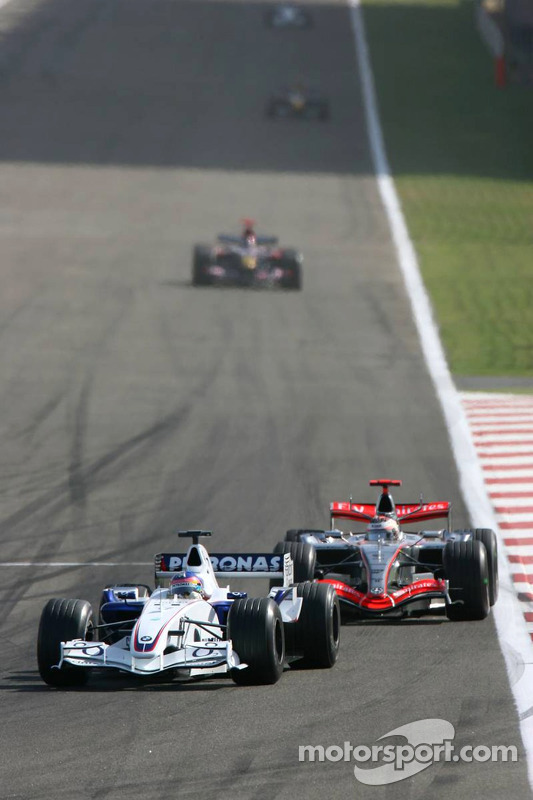 Jacques Villeneuve y Kimi Raikkonen
