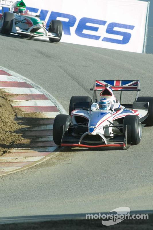 Le pilote de l'équipe de Grande-Bretagne Robbie Kerr