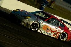#45 Flying Lizard Motorsports Porsche 911 GT3 RSR: Johannes van Overbeek, Jon Fogarty, Marc Lieb