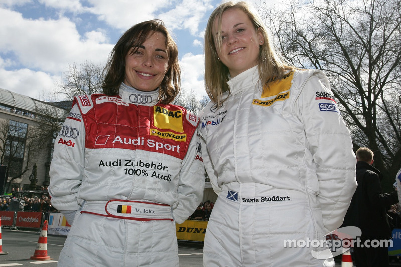 Vanina Ickx et Susie Stoddart en 2006