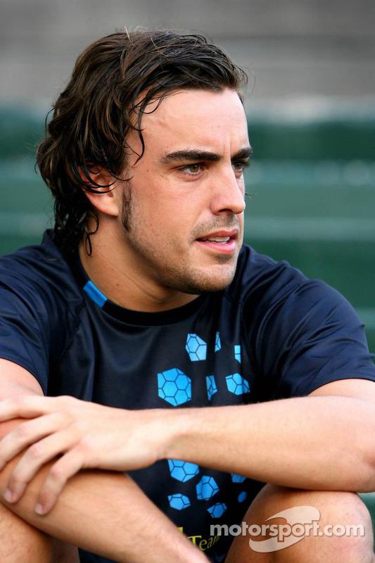 Evènement tennis Pro-Am charity: Fernando Alonso