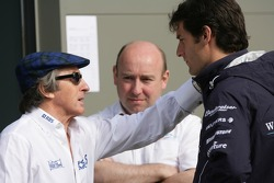 Sir Jackie Stewart and Mark Webber