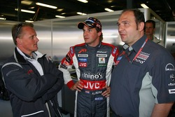 Johnny Herbert, Christijan Albers and Colin Kolles