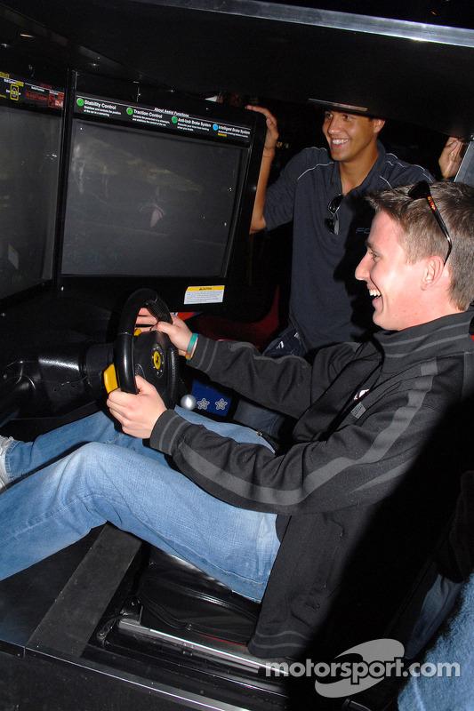 Brian Frisselle joue à Ferrari 355 Challenge
