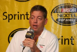 Troy Aikman Hall of Fame Racing Press Conference