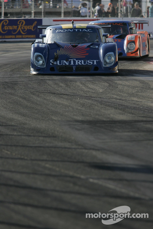 #10 SunTrust Racing Pontiac Riley: Jan Magnussen, Max Angelelli