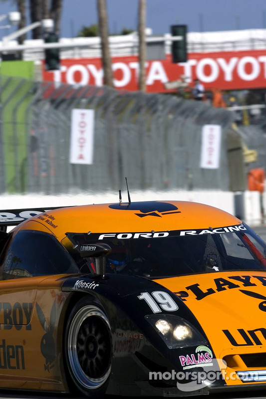 #19 Playboy Uniden Racing Ford Crawford: Memo Gidley, Michael McDowell