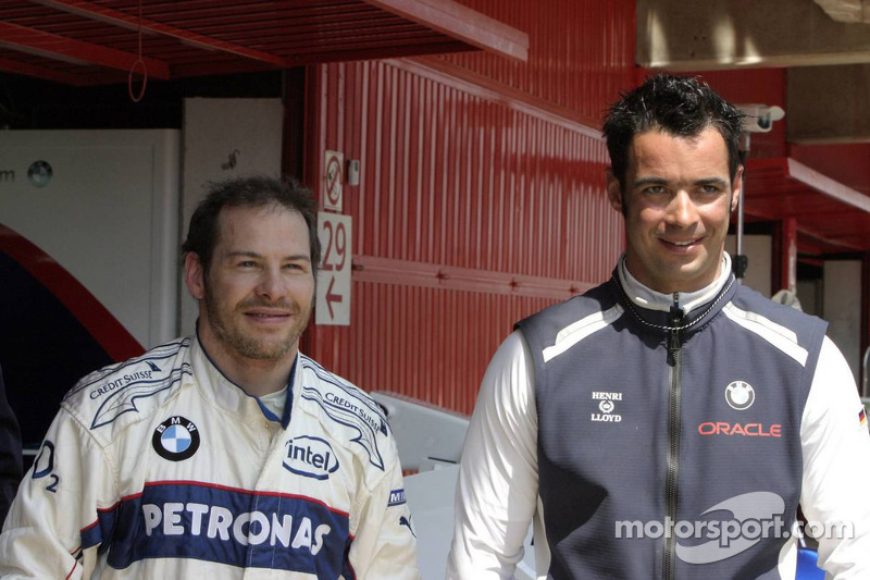 Jacques Villeneuve et Tony Kolb