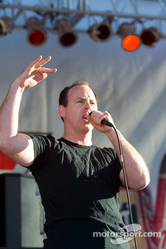 Le chanteur de Bad Religion Greg Graffin