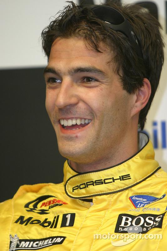 Conférence de presse après les qualifications: pilote LMP2 Lucas Luhr