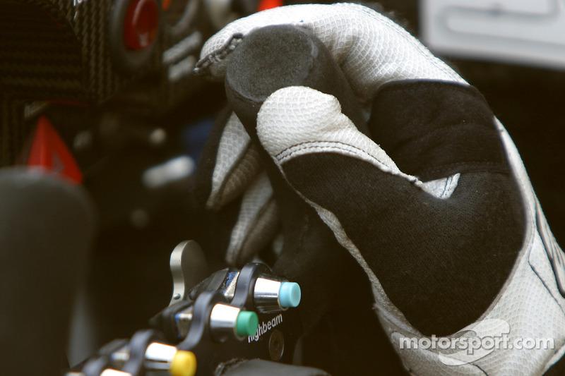 Cockpit de la Porsche RS Spyder