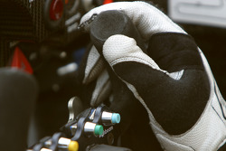 Cockpit of the Porsche RS Spyder