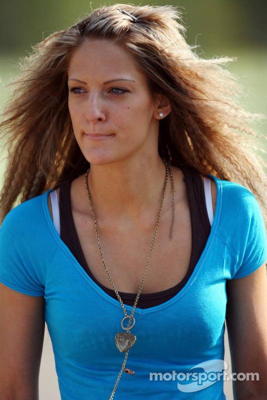 Franziska la petite-amie de Christian Klien