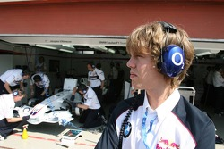 Sebastian Vettel, ASM Formula 3, Dallara F305 Mercedes as a guest of BMW Sauber F1 Team