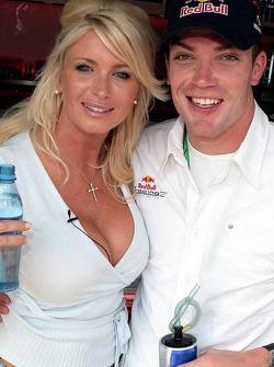Carolina Gynning and Robert Doornbos