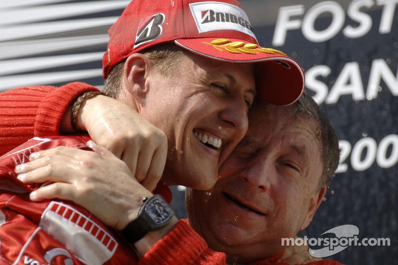 Michael Schumacher dan Jean Todt