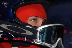 A pitcrew member of Scuderia Toro Rosso