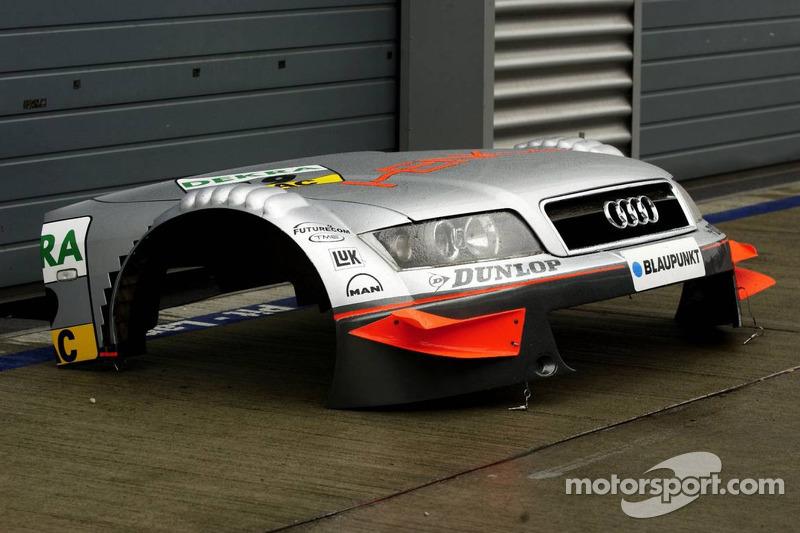 Détail de la Audi A4 DTM