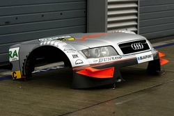 Detail of the Audi A4 DTM