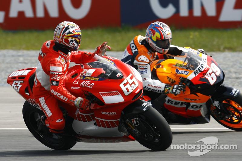 2006: Loris Capirossi dan Nicky Hayden