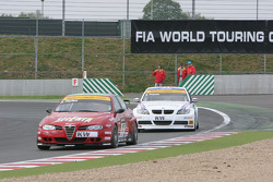Augusto Farfus and Andy Priaulx