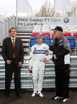 Visit of BMW Sauber F1 team Pitlane Park: Nick Heidfeld