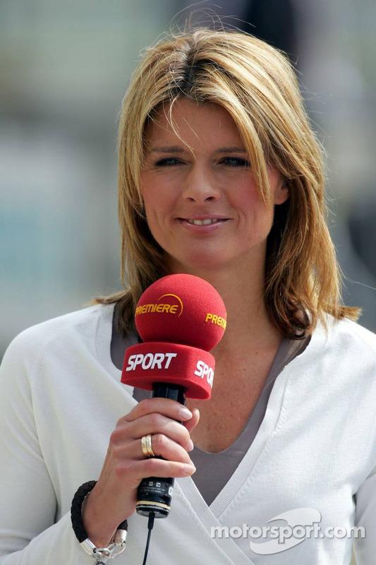 Maren Braun le commentateur de la télévision