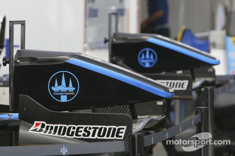 Les nez de l'équipe Trident Racing