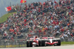 Felipe Massa and Juan Pablo Montoya