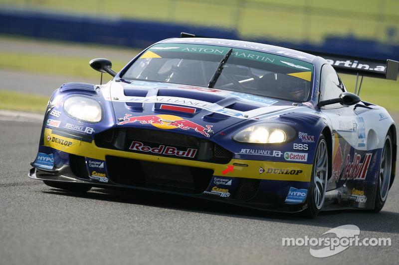 #33 Race Alliance Aston Martin DBR9: Karl Wendlinger, Philipp Peter