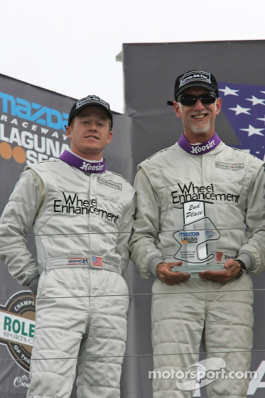 Podium: Patrick Long et Brent Martini