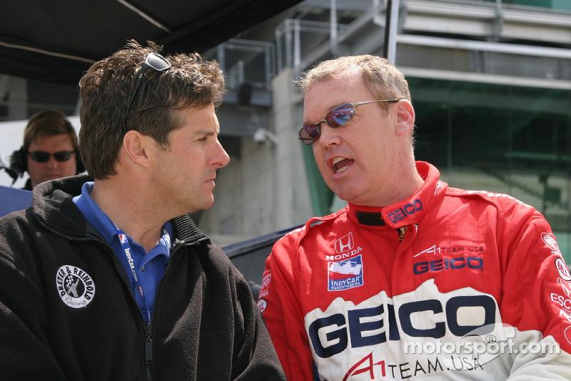 Robbie Buhl et Al Unser Jr.