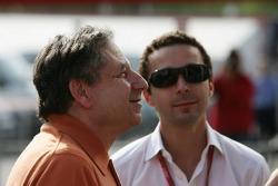 Jean Todt with his son Nicolas Todt