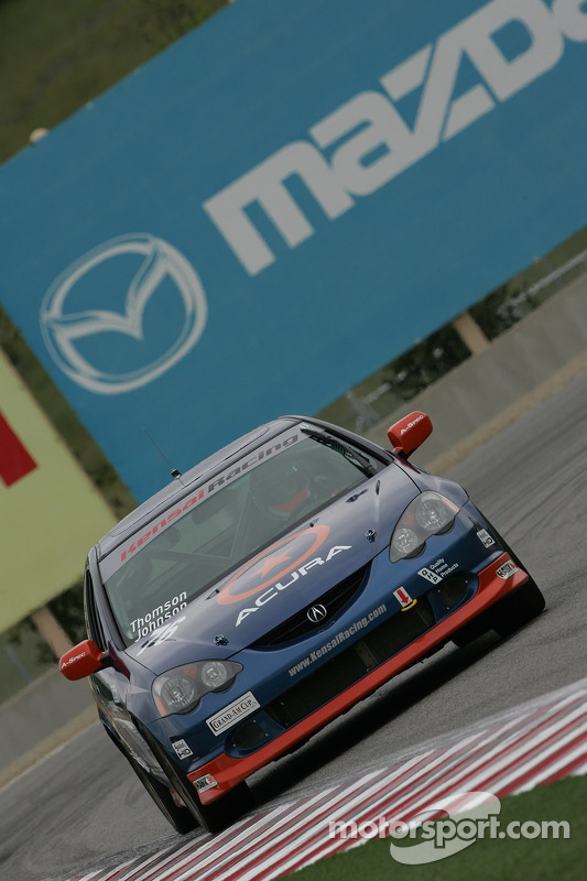 #76 Kensai Racing Acura RSX - S: Karl Thomson, Billy Johnson