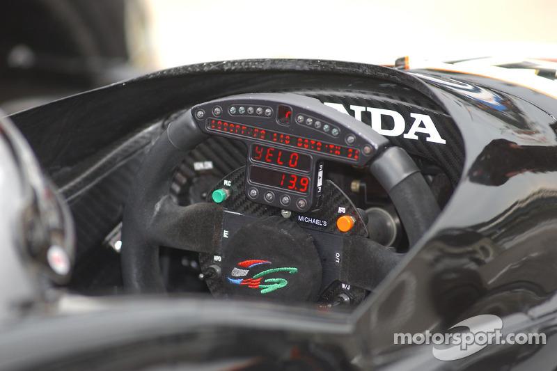 Volant de Michael Andretti
